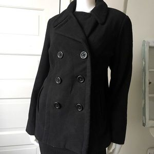 2for $30 Style &Co wool coat size Large black